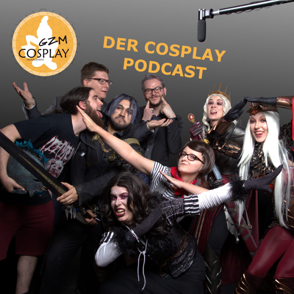 GZM Cosplay Podcast Staffel 1 Cover