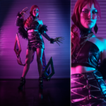 Falcon Cosplay – KDA Evelynn – Leauge of Legends